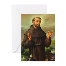 St. Francis of Assisi Greeting Cards (Pk of 20)