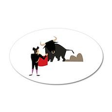 Bullfighter Wall Decal