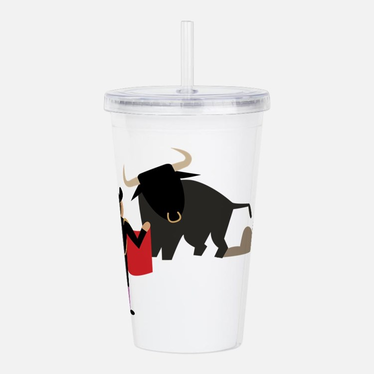 Bullfighter Acrylic Double-wall Tumbler