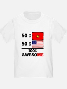 Half Vietnamese Half American T-Shirt