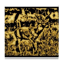 Whitetail Buck Tile Coaster