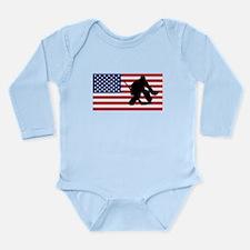 Hockey Goalie American Flag Body Suit