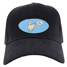 Cream Persian Tail Talk Baseball Hat