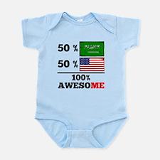 Half Saudi Arabian Half American Body Suit