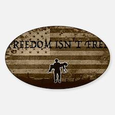 Freedom isn't Free Decal