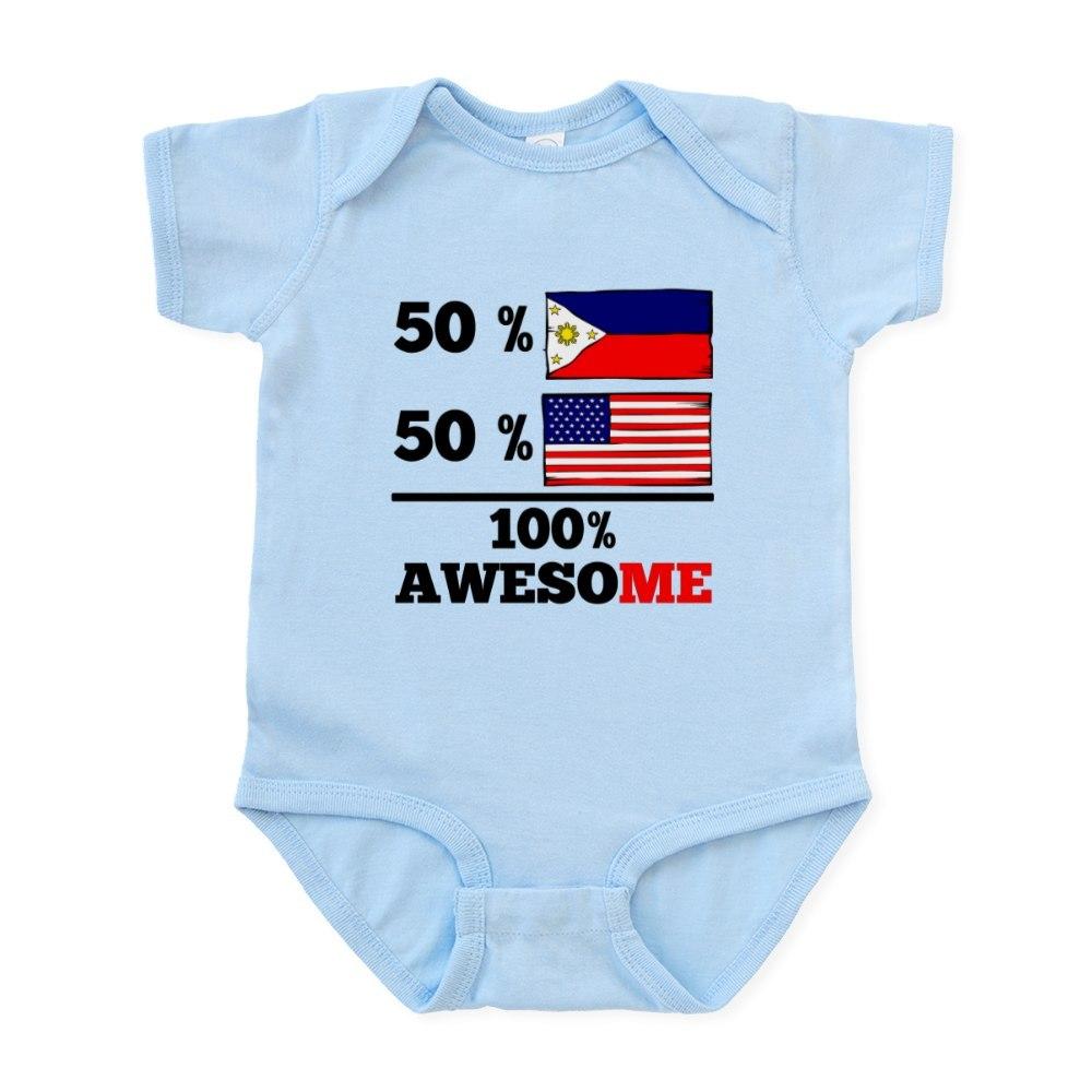 CafePress Half Filipino Half American Body Suit