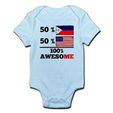 Half Filipino Half American Body Suit