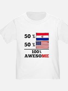 Half Paraguayan Half American T-Shirt