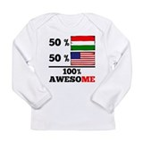 American hungarian baby Long Sleeve Tees