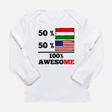 Half Hungarian Half American Long Sleeve T-Shirt