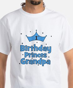 1st Birthday Princes Grandpa! Shirt