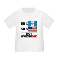 Half Guatemalan Half American T-Shirt