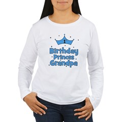 1st Birthday Princes Grandpa! Women's Long Sleeve
