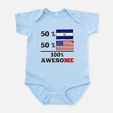 Half El Salvadorian Half American Body Suit