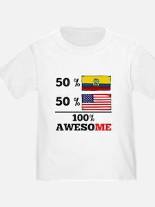 Half Ecuadorian Half American T-Shirt