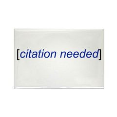 Citation Needed Rectangle Magnet