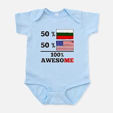 Half Bulgarian Half American Body Suit