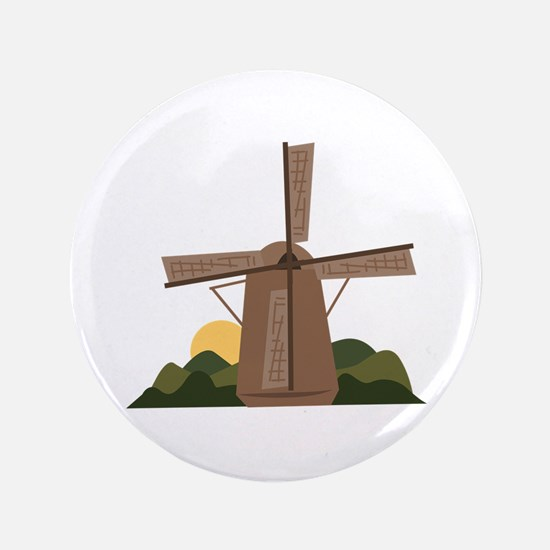 Dutch Windmill Button