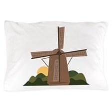 Dutch Windmill Pillow Case