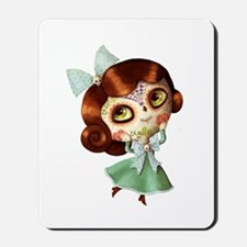 The Day of The Dead Vintage Doll Mousepad