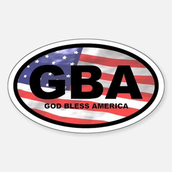GBA Oval Decal