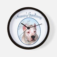 Dogo Season's Wall Clock