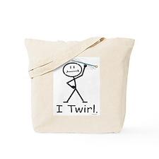 Baton Twirling Tote Bag