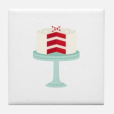 Red Velvet Cake Tile Coaster