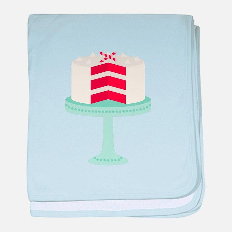 Red Velvet Cake baby blanket