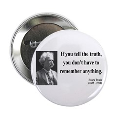 "Mark Twain 30 2.25"" Button (10 pack)"