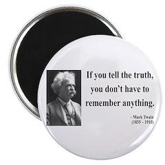 Mark Twain 30 Magnet