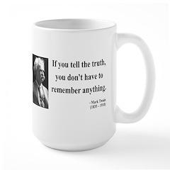 Mark Twain 30 Large Mug