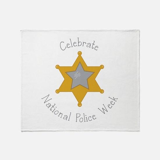 National police week Throw Blanket