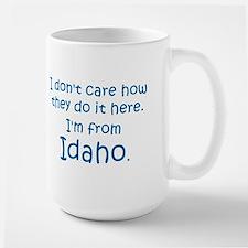 From Idaho Large Mug