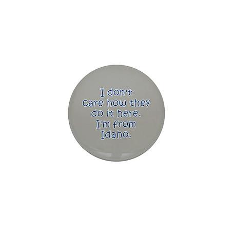 From Idaho Mini Button