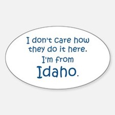 From Idaho Decal