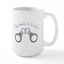 partners in crime Mugs