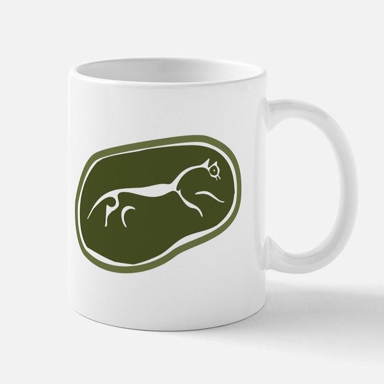 Uffington White Horse Mugs