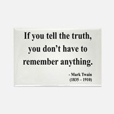 Mark Twain 30 Rectangle Magnet