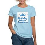 1st Birthday Princes Grandma! Women's Light T-Shir