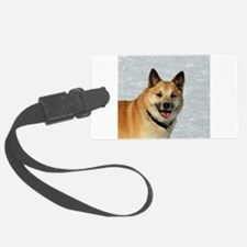 IcelandicSheepdog019 Luggage Tag