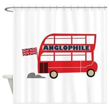 Anglophile Shower Curtain
