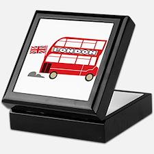 London Bus Keepsake Box