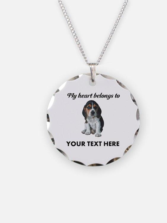 Personalized Beagle Custom Necklace