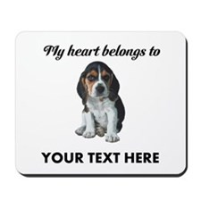 Personalized Beagle Custom Mousepad