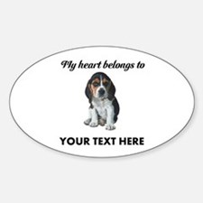 Personalized Beagle Custom Decal
