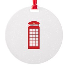 Telephone Box Ornament