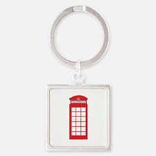 Telephone Box Keychains