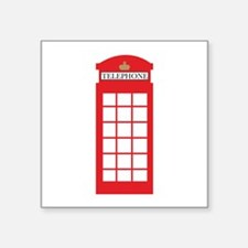 Telephone Box Sticker