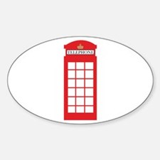 Telephone Box Decal